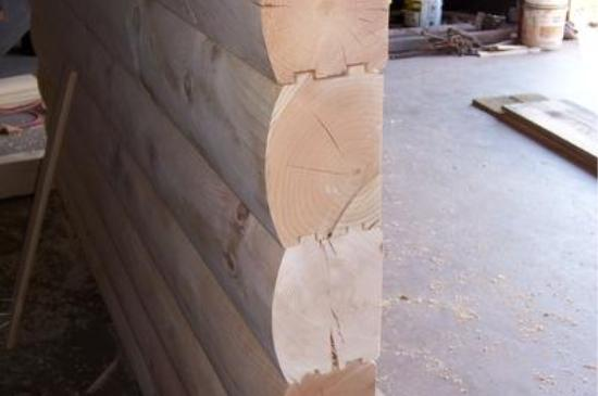6x8 D Logs Mooretown Sawmill