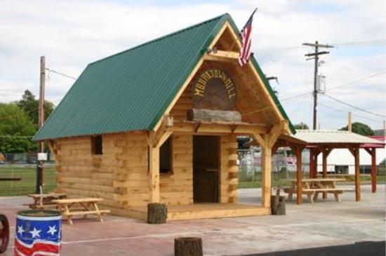 Beau 12x16 Log Home