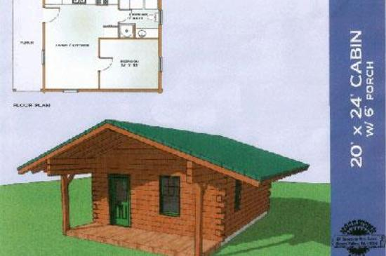 Firewood shed plans 20x24 hanike for 20x40 cabin