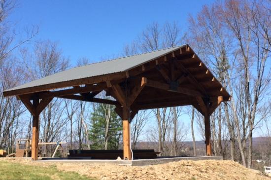 Medium Pavilion Mooretown Sawmill