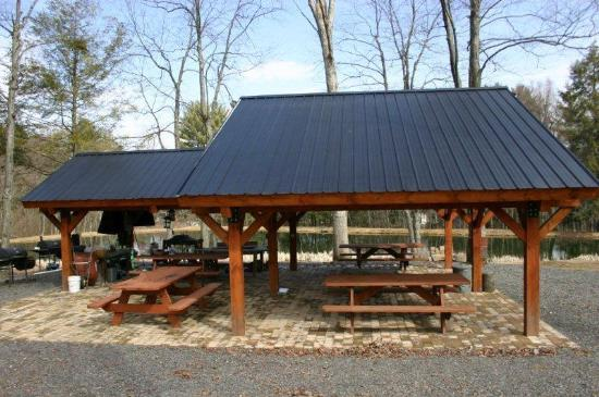Large Pavilion Mooretown Sawmill